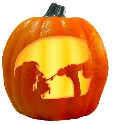 from Izaiah gay carved pumpkin